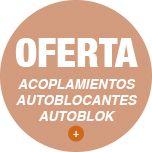 Oferta acoplamientos autoblocantes Autoblok